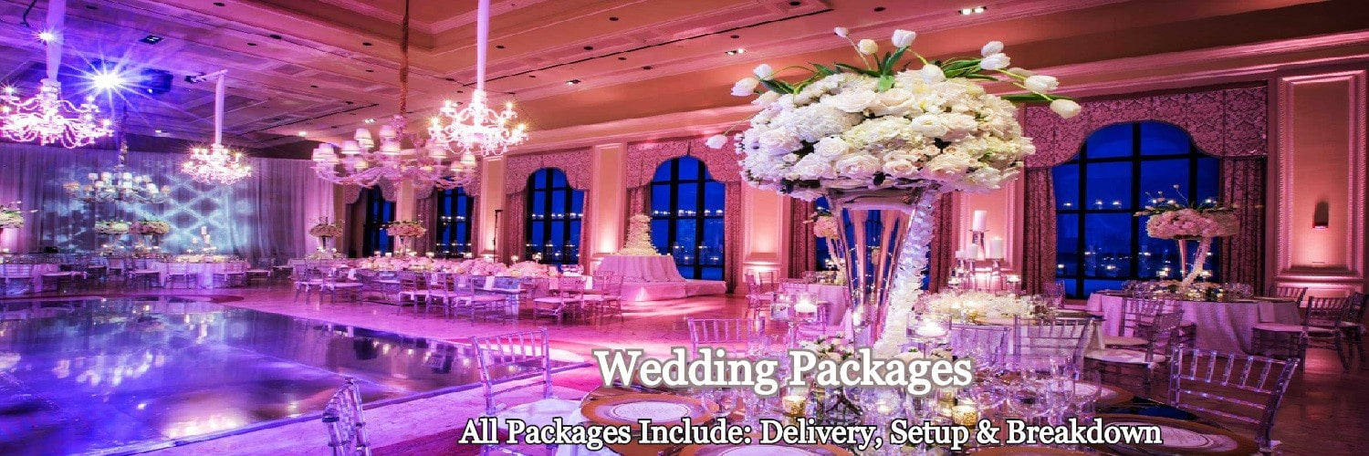 Wedding Packages Banner